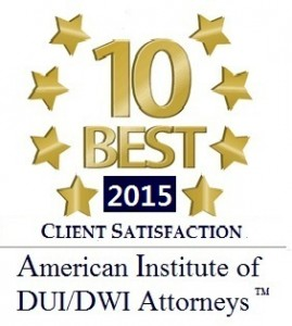 10 Best Award DUI 2015