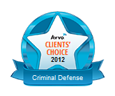 Avvo Clients' Choice Attorney